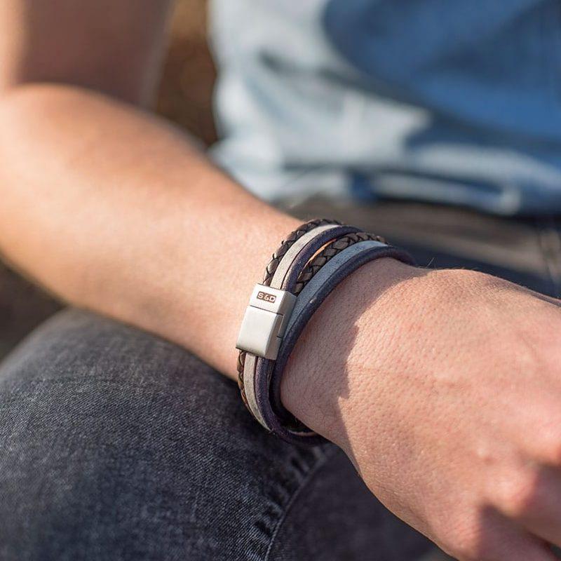 Cooper wikkelarmband wristshot
