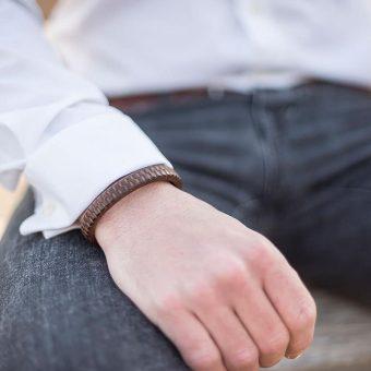 leren armband mannen