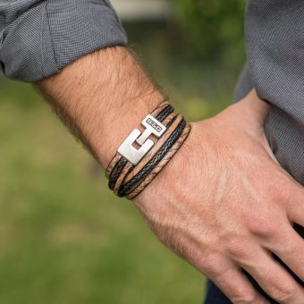 leren armbanden voor mannen