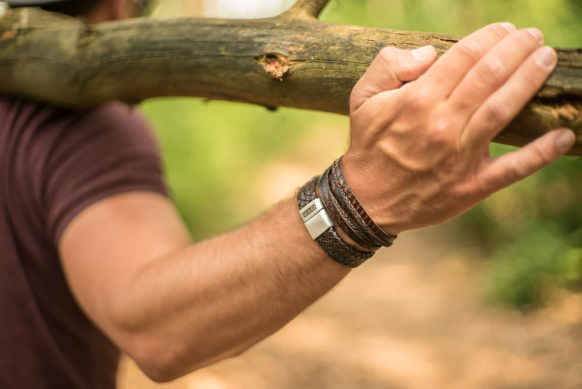 leren armbanden mannen