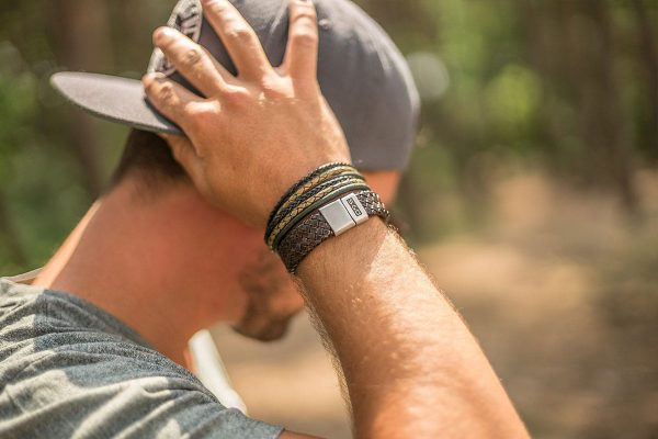 Leren armband SAID&DONE