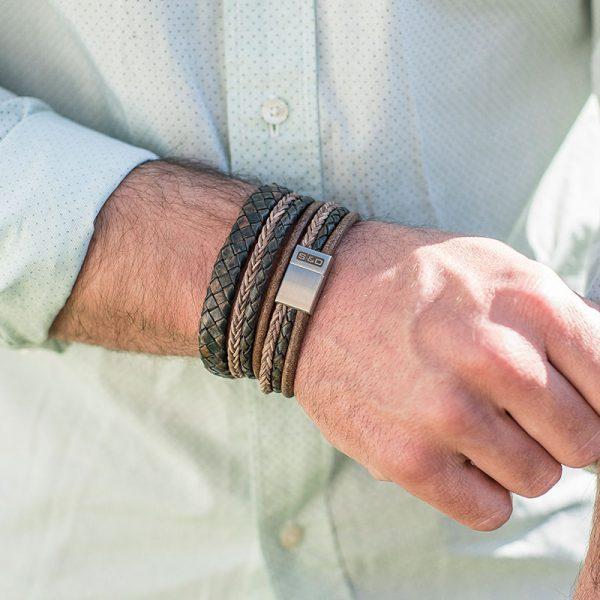 leren armbanden heren