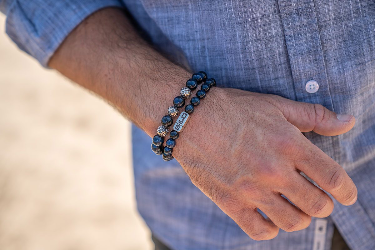 kralen armband heren