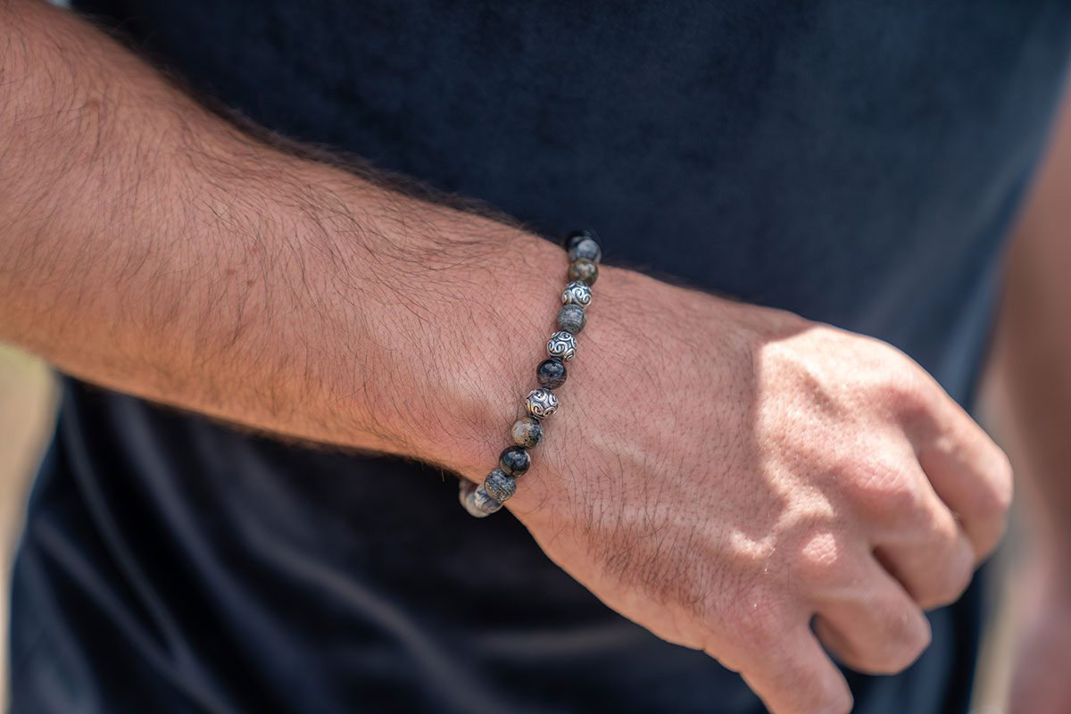 kralen armband mannen