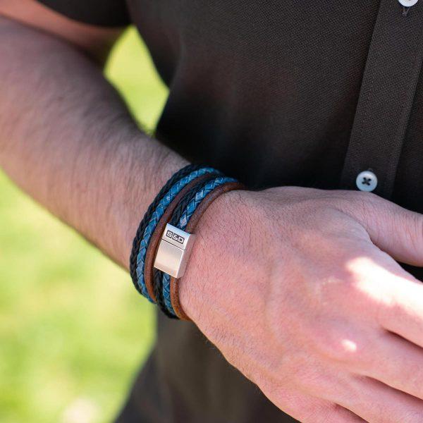 Leder Wrap Armbänder